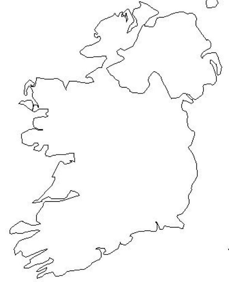 Map of Hostels In Ireland
